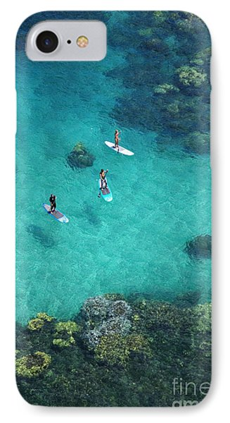 Stand Up Paddling IPhone Case by Ron Dahlquist - Printscapes