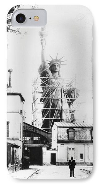 Statue Of Liberty, Paris IPhone Case by Granger