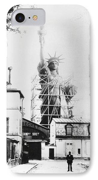 Statue Of Liberty, Paris IPhone 7 Case
