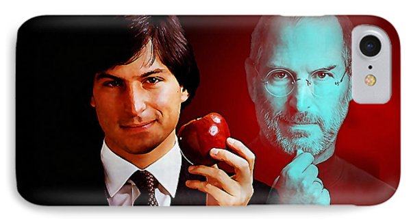 Steve Jobs IPhone Case by Marvin Blaine