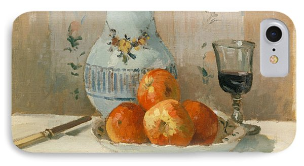 Still Life With Apples And Pitcher IPhone Case