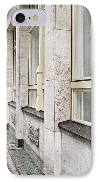 Stone Building IPhone Case