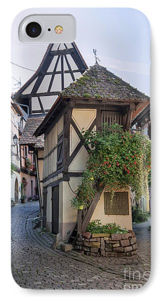 Streets Of Eguisheim IPhone Case by Yefim Bam