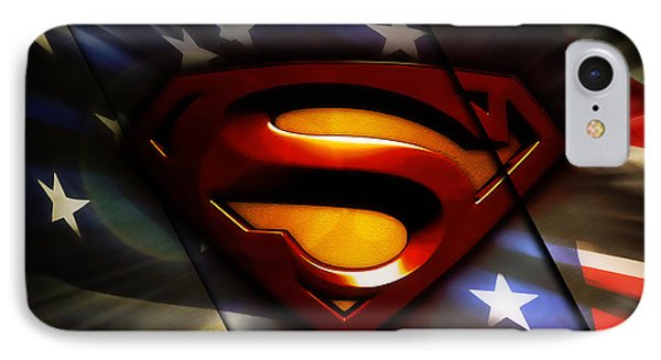 Superman Collection IPhone Case by Marvin Blaine