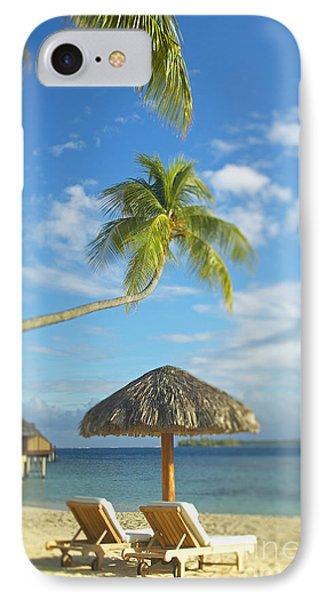 Tahiti, Bora Bora Phone Case by Kyle Rothenborg - Printscapes