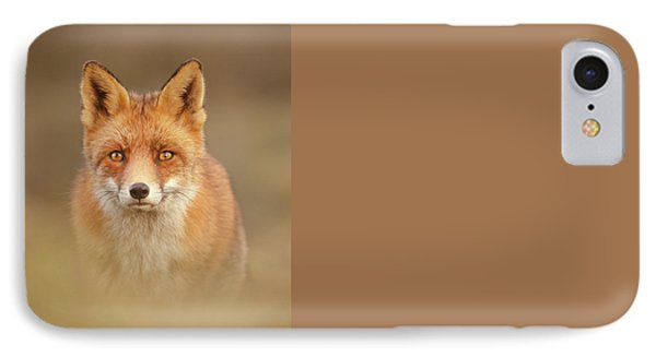 That Foxy Face IPhone Case by Roeselien Raimond