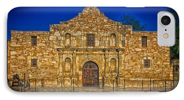 The Alamo IPhone Case by Mountain Dreams