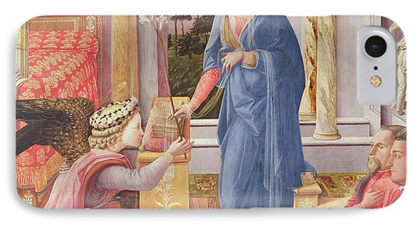 The Annunciation IPhone Case by Fra Filippo Lippi