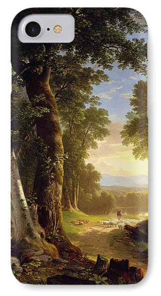The Beeches IPhone Case by Asher Brown Durand