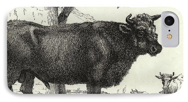 The Bull IPhone Case by Paulus Potter
