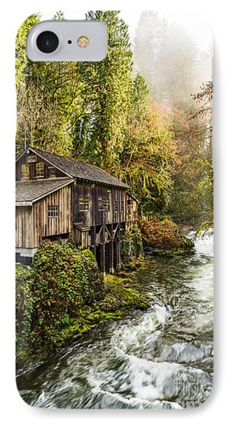 The Cedar Creek Grist Mill In Washington State. IPhone Case