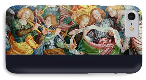 The Concert Of Angels IPhone Case by Gaudenzio Ferrari