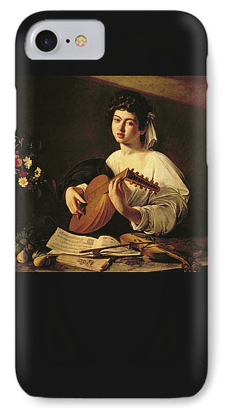 The Lute Player IPhone Case by Caravaggio