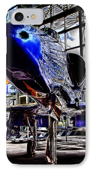 The Navy's Blue Angel IPhone Case by David Patterson
