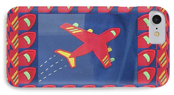 IPhone Case featuring the digital art Theme Aviation Aeroplanes Aircraft Travel Holidays Christmas Birthday Festival Gifts Tshirts Pillows by Navin Joshi