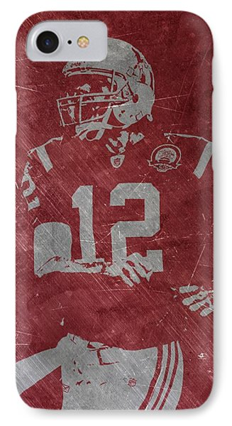 Tom Brady Patriots IPhone Case