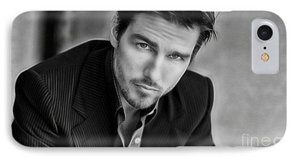Tom Cruise Collection IPhone Case by Marvin Blaine