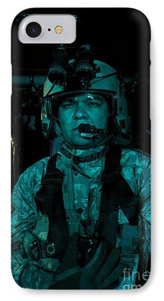Uh-60 Black Hawk Crew Chief IPhone Case