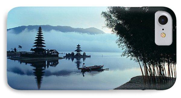 Ulu Danu Temple Phone Case by William Waterfall - Printscapes