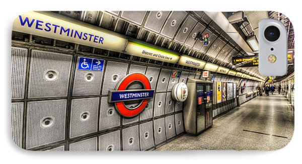Underground London IPhone Case by David Pyatt