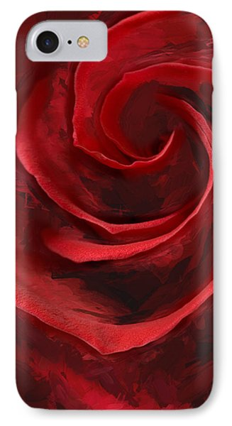 Unfurling Beauty I IPhone Case
