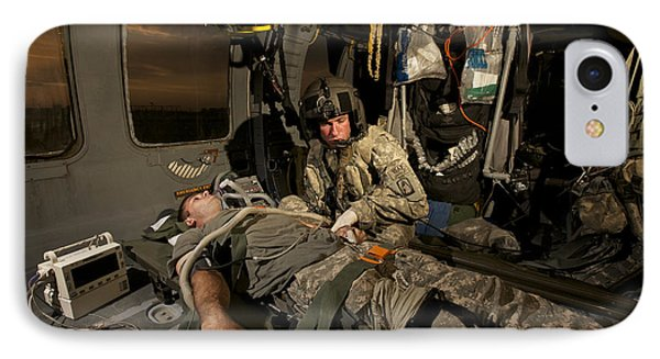 U.s. Army Specialist Practices Giving Phone Case by Terry Moore