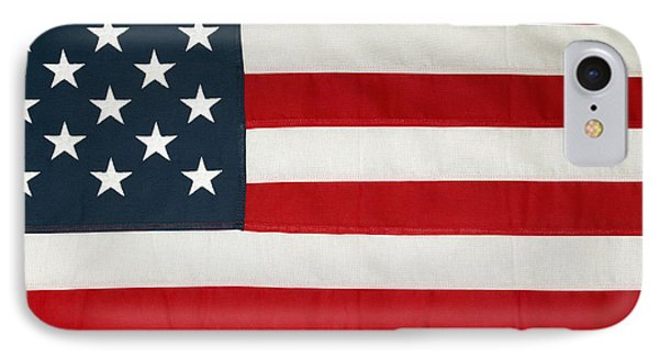 U.s. Flag IPhone Case by Les Cunliffe