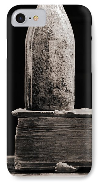 IPhone Case featuring the photograph Vintage Beer Bottle #00803 by Andrey  Godyaykin