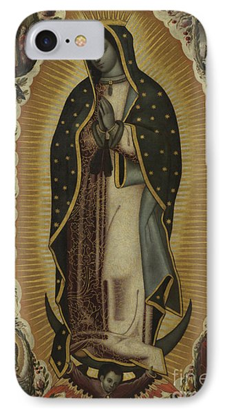 Virgin Of Guadalupe IPhone Case by Manuel de Arellano