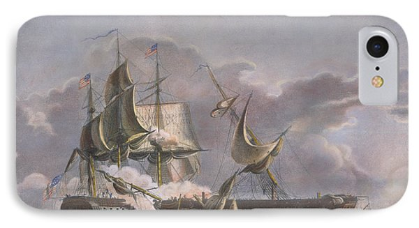 War Of 1812: Naval Battle IPhone Case