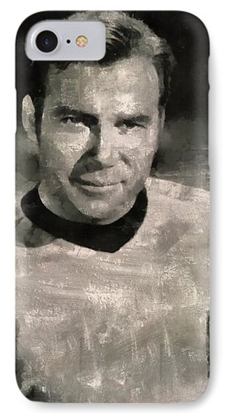 William Shatner Star Trek's Captain Kirk IPhone Case
