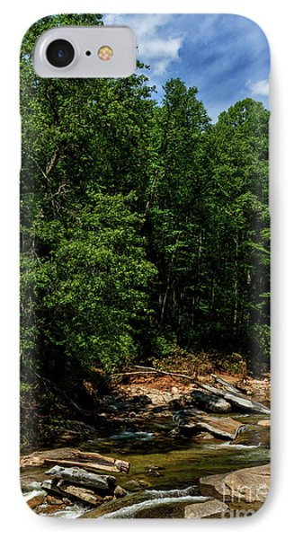 IPhone Case featuring the photograph Williams River After The Flood by Thomas R Fletcher