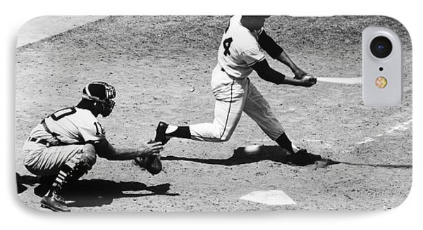 Willie Mays (1931- ) Phone Case by Granger