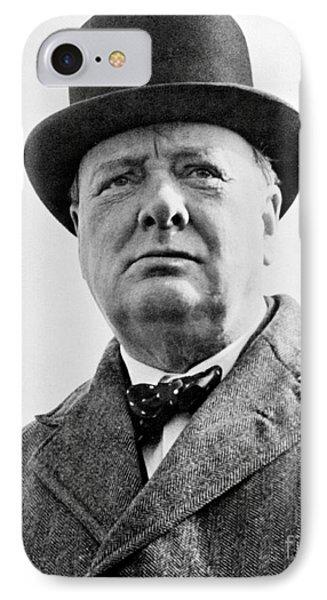Winston Churchill IPhone Case by English School