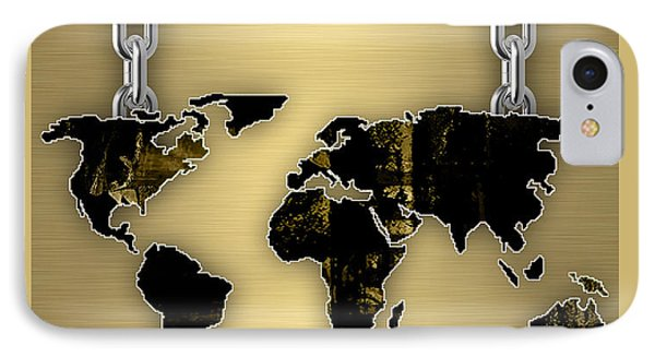 World Map Collection IPhone Case