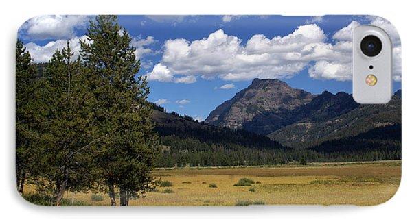 Yellowstone Vista Phone Case by Marty Koch