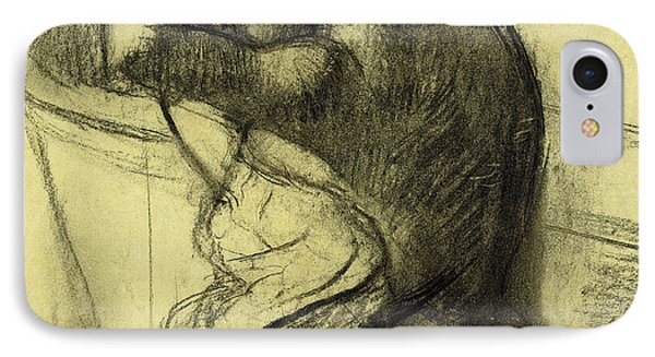 After The Bath IPhone Case by Edgar Degas