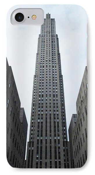 IPhone Case featuring the photograph 30 Rockefeller Center by Christopher Kirby