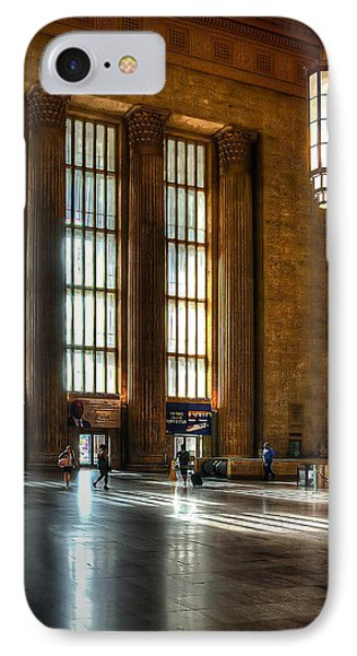 30th Street Station IPhone Case by Rick Mosher