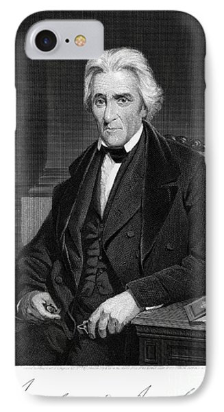 Andrew Jackson (1767-1845) IPhone Case
