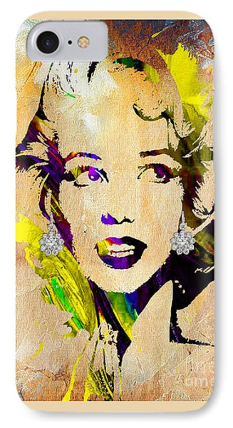 Marilyn Monroe Collection IPhone Case by Marvin Blaine