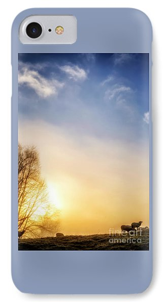 IPhone Case featuring the photograph Misty Mountain Sunrise by Thomas R Fletcher