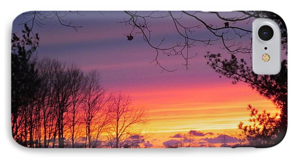 31 Oct 2012 Sunset Two IPhone Case by Tina M Wenger