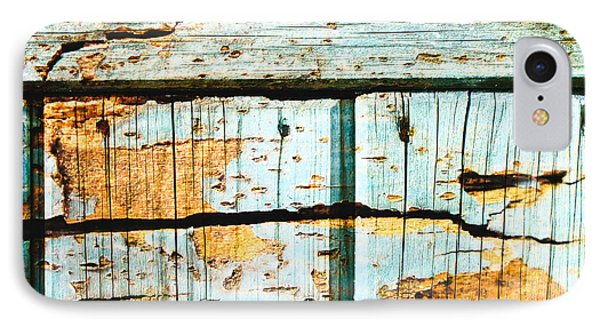 Wooden Background IPhone Case by Tom Gowanlock