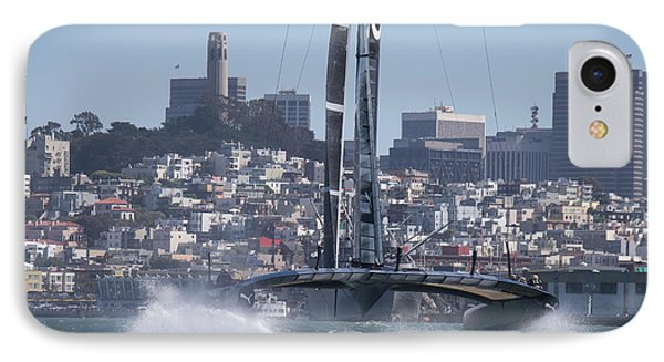 America's Cup Oracle IPhone Case by Steven Lapkin