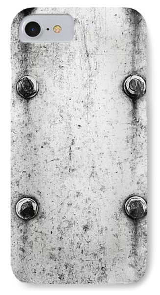 Metal Background IPhone Case by Tom Gowanlock