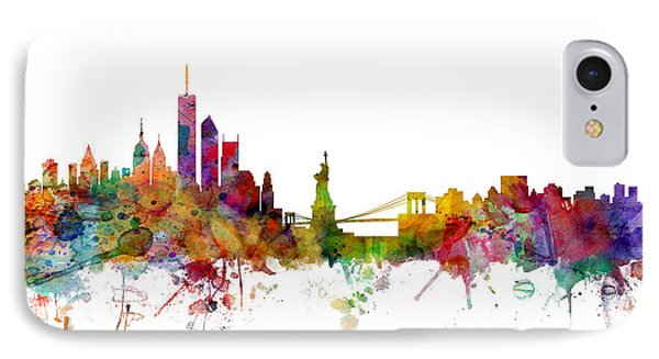 New York Skyline IPhone Case