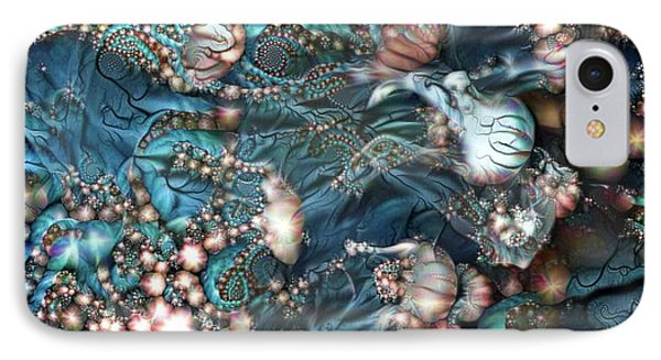 Abstract Jellyfish IPhone Case by Amy Cicconi