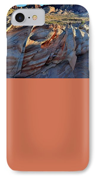 IPhone Case featuring the photograph Colorful Sandstone In Valley Of Fire by Ray Mathis