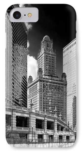 35 East Wacker Chicago - Jewelers Building Phone Case by Christine Till